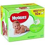 Huggies Lingettes Natural Care X10 Packs