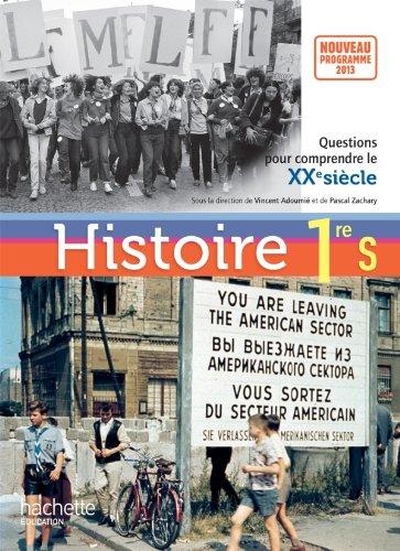 Histoire 1re S - Livre de l'élève format compact - édition 2013 (Histoire (Zachary))