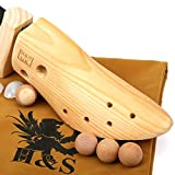 HS-Shoe-Stretchers-Ladies-Women-Wood-Womens-Shoe-Shaper-Stretcher-Trees-Three-Way-Wooden-for-Bunions-Width-Cedar-Cedarwood-Balls