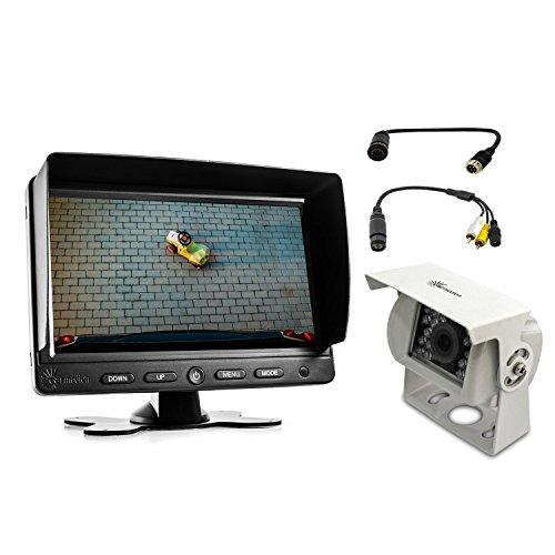 "Adapter System für Waeco Rückfahrkamera Rückfahrsystem Perfectview Kabel 7\"" Monitor LED IR18 Kamera"
