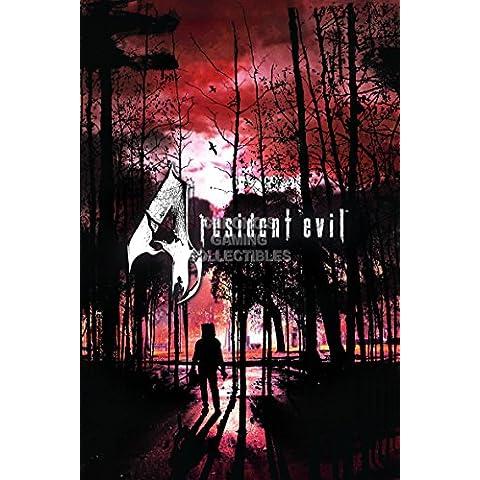 CGC enorme cartel–Resident Evil 4PS2PS3Nintendo GameCube Wii U–ree063, papel, 24