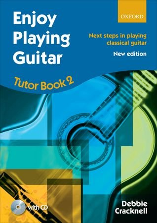 CRACKNELL D. - Enjoy Playing Guitar Vol.2 (Tutor) para Guitarra (Inc.CD) (New Edition)