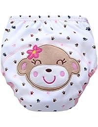 MagiDeal Pantalones De Entrenamiento Para Baño Para Bebés Y Niños Pequeños