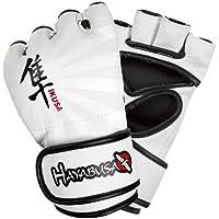 Hayabusa Ikusa–Guantes de Hombre para artes marciales mixtas - I4MMAG-WX, XL, Blanco
