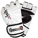 Hayabusa Ikusa MMA Gloves, 4-Ounce/Medium, White