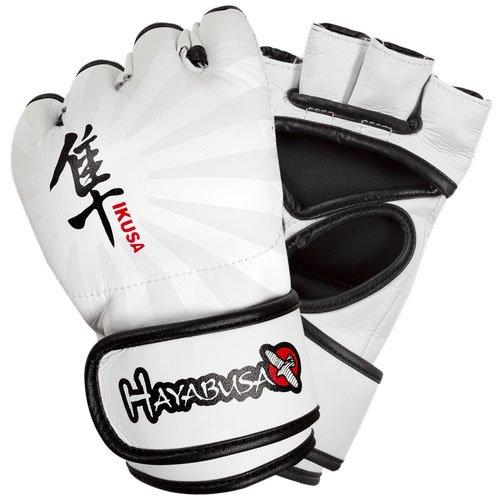 Abverkauf Hayabusa Ikusa 4oz MMA Gloves white -