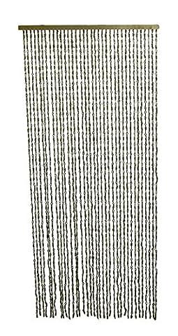 36brins passant de nœud et décoratifs Corde de jute Rideau 195,6x 91,4cm