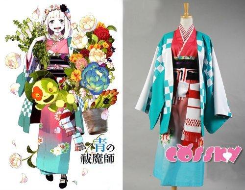 (Sunkee Ao no Exorcist Shiemi Moriyama Cosplay Kostüm , Größe L( Alle Größe Sind Wie Beschreibung Gesagt, überprüfen Sie Bitte Die Größentabelle Vor Der Bestellung ))