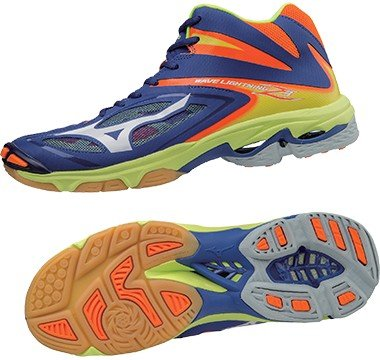 MIZUNO WAVE LIGHTNING Z3 MID V1GC170573 Scarpe da volley uomo multicolore