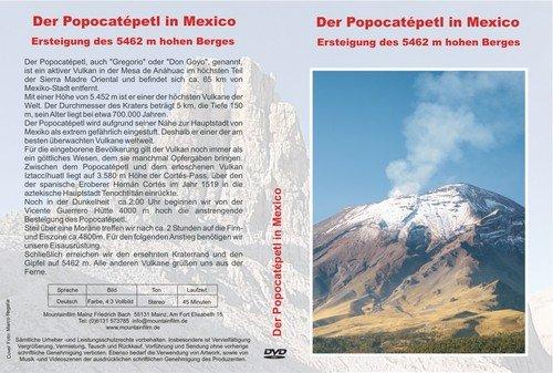 Popocatépetl in Mexico