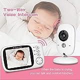 Wireless Video Baby Monitor Sprechanlage Eingebaute Lullabies Spielen Lullabies Home Baby Kind Monitor Hd Nachtsicht