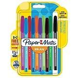 PaperMate InkJoy 100 CAP, bolígrafo con capuchón, punta media de 1mm