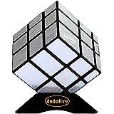 Dodolive Mirror Magic Cube Intellengence Ninos Educacion Herramientas Juego de Puzzle,Plata