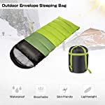 ieGeek Sleeping Bag, Ultra-light Outdoor Sleeping Bag, 220 x 75 cm, Easy to Carry, Lightweight, Compact, 4 Seasons for… 13
