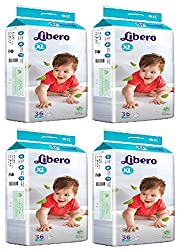 Libero Open Extra Large Size Diaper - 144 Counts