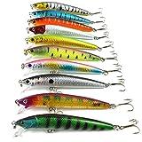 Aorace 10pcs/lot Fishing Lure Minnow Lure Minnow Baits - Best Reviews Guide
