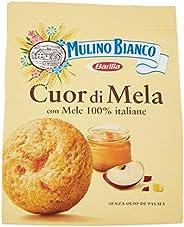 Mulino Bianco Biscotti Frollini Cuor di Mela, Colazione Ricca di Gusto, Senza Olio di Palma, 300 g