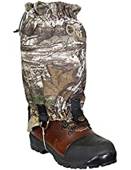 Raptor Hunting Solutions Realtree Camouflage Imperméable Respirant Coupe-vent Protection Contre l'humidité Mountain Mountain Gaiter Pour Hommes et Femmes realtree Extra (one size)