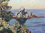 Das Museum Outlet–Le Brusc, Cote d 'Azur, 1901–Leinwanddruck Online kaufen (152,4x 203,2cm)