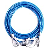 #3: Emergency Tow Pull Rope Snatch Strap for Car, (8mm x 4m) 3000kgs
