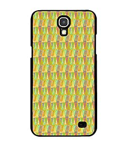 Fiobs Designer Back Case Cover for Samsung Galaxy Mega 2 SM-G750H (jaipur rajasthan african america cross pattern)
