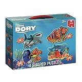 Jumbo Spiele 19631–Disney Finding Dory 4-in-1contorni Puzzle 8/10/12/14Pezzi