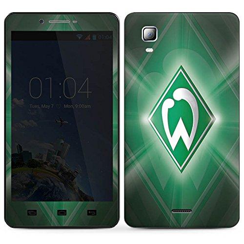 DeinDesign Kazam Trooper 2 6.0 Folie Skin Sticker aus Vinyl-Folie Aufkleber Werder Bremen Fanartikel SV Fußball