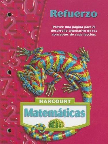 Harcourt Matematicas: Refuerzo Grade 6 (Matematicas 05)