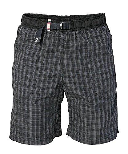 erren Moth Shorts Boulderhose für Damen und Herren – Outdoorhose für bewegungsfreies Bouldern, Klettern, Trekking, Wandern - K198, Schwarz, M ()