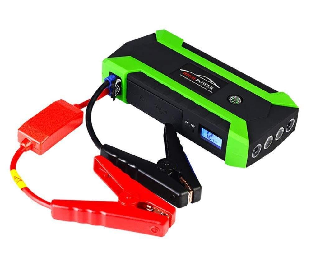 BTHDPP Arrancador De Coches,Cargadores De Batería para Coche 600A 20000mAh Batería Y Cargador De Teléfono con Puerto De Carga Inteligente