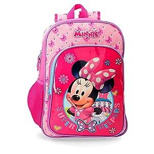 Disney Minnie Super Helpers Maleta de cabina Rosa 37x55x20 cms Rígida ABS Cierre combinación 37.4L 2,6Kgs 4 ruedas…