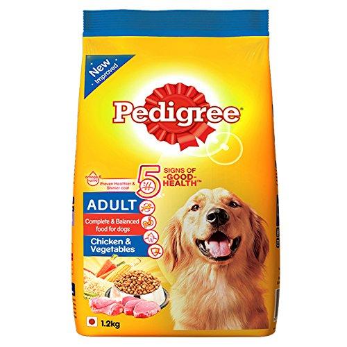 Pedigree Adult Dog Food, Chicken and Vegetables 51Bs8Z9xvvL