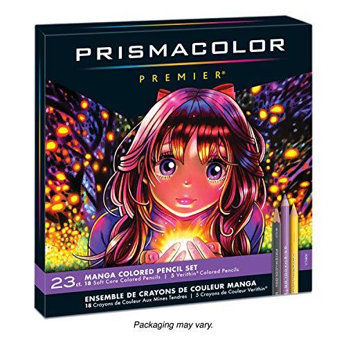 Prismacolor 1774800 Premier Crayons de couleurpour mangas