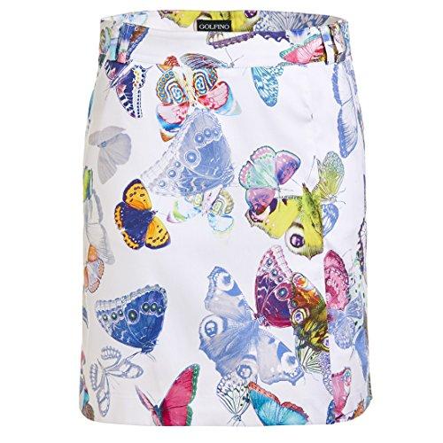 golfino-jupe-de-golf-avec-un-motif-papillon-imprime-et-fonction-stretch-blanc-xl