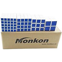 Monkon - Lote de cubos rompecabezas (2 x 2 x 2; 3 x 3 x 3; 4 x 4 x 4; 5 x 5 x 5)