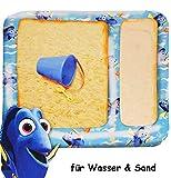 alles-meine.de GmbH Wasser & Sandtisch - aufblasbar -  Findet Nemo - Fisch Dory  - Sandkasten Fü..