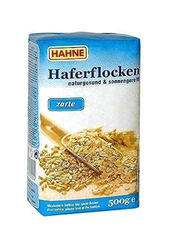 Hahne Hafer Flocken feines Blatt, 10er Pack (10 x 500 g)