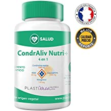 Condraliv Nutri + Glucosamina Condroitina Msm Manganeso Complemento Alimenticio 4 en 1 Antiinflamatorio Artritis Dolor Muscular