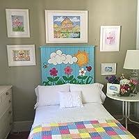 Cabecero infantil, cama niño, decoración infantil niño bebe, cama original, regalo original bebe niño, decoración divertida original bebe niño, muebles bebe ...