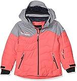 CMP Mädchen Skijacke Jacke, Red Fluo, 152