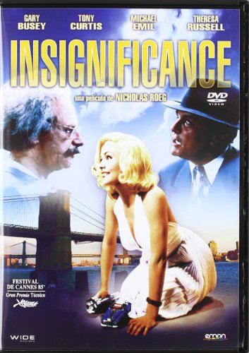 Insignificance - Tony Curtis, Michael Emil, Theresa Russell - Audio: English, Spanish