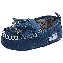 Zapatos De Bebé, Amlaiworld Recién nacido bebé pequeño doble suave cuero único ...