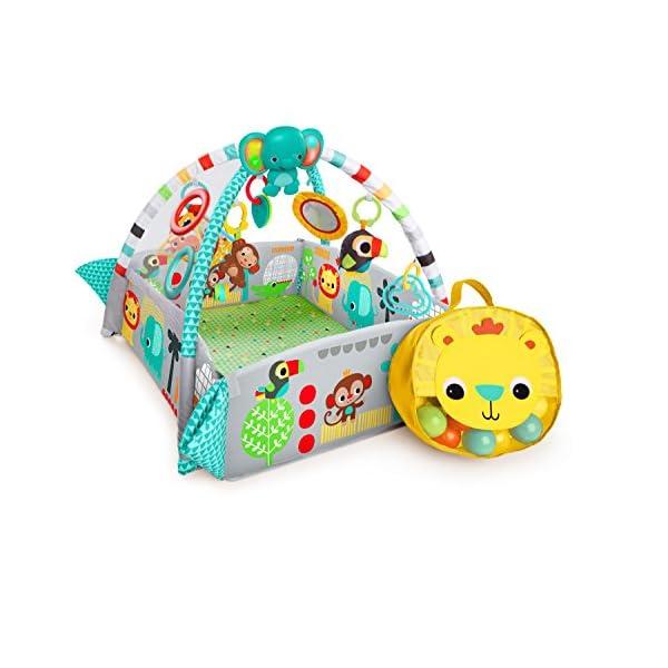 Bright Starts 10754, Palestrina Multifunzione 5-in-1 per Neonati e Bambini Your Way Ball Play™ con 35 palline colorate…