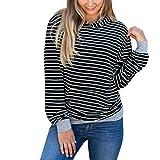TianWlio Damen Kapuzenpullover Frauen Hoodie Langärmliges mit Kapuze Pullover Tops Hoodie Sweatshirt Pullover Bluse Rollkragenpullover Pullover Kapuzenpullover Shirt