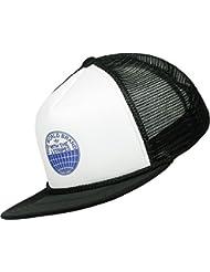 adidas H Trucker Gorra de Tenis, Hombre, Negro/Blanco, OSFM