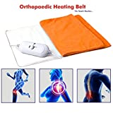 #6: Heating Belt , Elove Orthopaedic Electric Heating Belt for Pain Relief - For Back, Abdominal, Knee and more (Cloth Color may vary) - LARGE