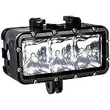 Bresser Action Kamera LED Leuchte wasserdicht schwarz