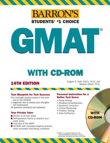 GMAT Graduate Management Admission Test (1Cédérom)