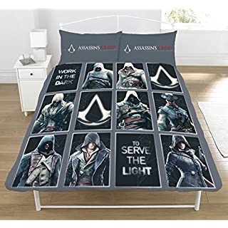 Assassin's Creed ' Legacy' Double Duvet Set, Polyester-Cotton Multi