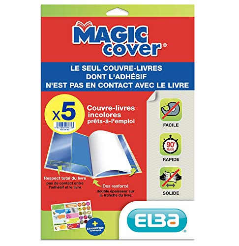 "Elba 400008903 Buchschoner""Magic Cover\"", Inhalt: 5 Blatt"